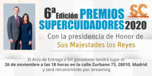 Almaimas en la 6ª Edición PREMIOS SUPERCUIDADORES 2020